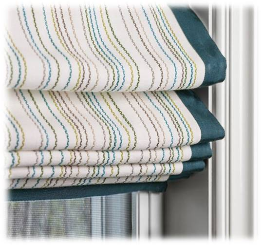 Soften the light in a window or block it out completely. Fabric shades can provide more than just a functional feature for your windows.